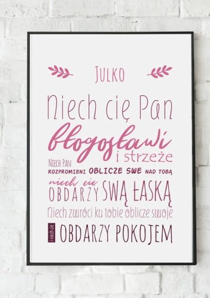 Plakat Z Imieniem Sklep Bógdom